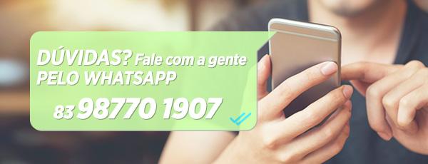 Atendimento personalizado via Whatsapp